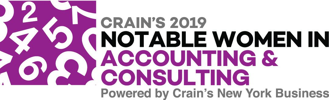 Jane E. Ryan Named Crain's  2019 Notable Woman in Accounting & Consulting